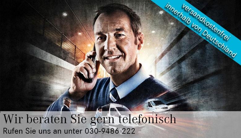 Wir beraten Sie gern auch telefonisch.