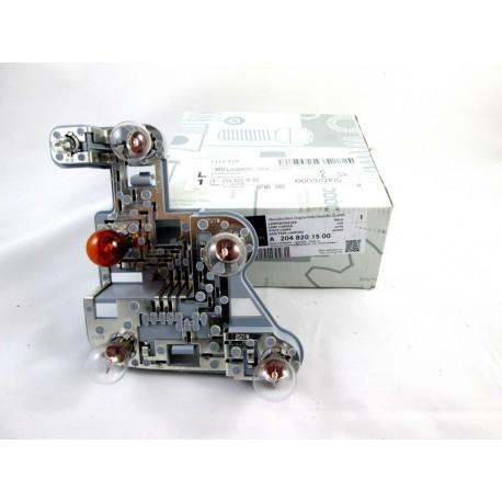 Original Mercedes-Benz Lampenträger Lampenfassung inkl. Glühbirnen C-Klasse Limousine W204 links
