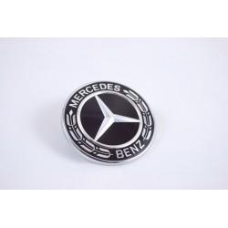 Original Mercedes-Benz Ersatz Stern für Stoßfänger schwarz