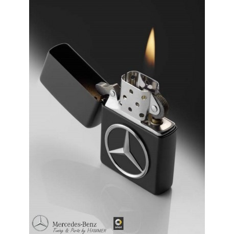 Original Mercedes Benz Zippo Feuerzeug schwarz Made in USA