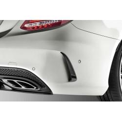Original Mercedes-Benz AMG-Zusatz-Flics Komplett Satz für C-Klasse Cabrio Coupe C/A 205