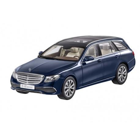 Mercedes Benz E-Klasse, T-Modell, cavansitblau, iScale, 1:18