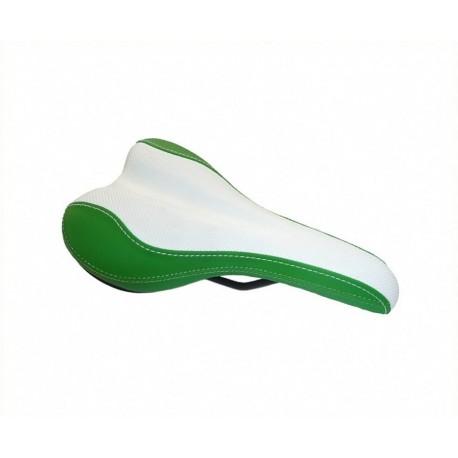 smart ebike Sattel grün weiß