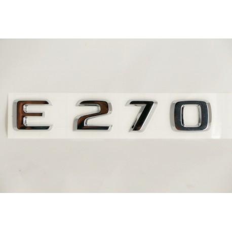 Typenkennzeichnung E 270
