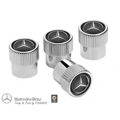Original Mercedes-Benz Ventilzierkappen, Set, 4-teilig, Ventil, Kappen