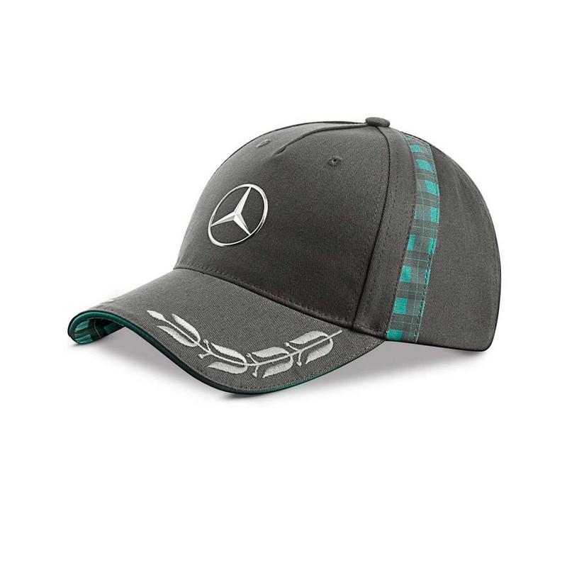 Mercedes benz cap heritage basecap baseballm tze grau herren for Mercedes benz hat amazon