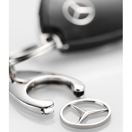 3x Schlüsselanhänger, Einkaufs Chip, Einkaufswagen Euro Ersatz - Original Mercedes-Benz