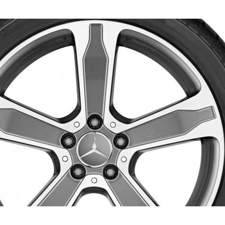 Felgensatz 5-Doppelspeichen-Rad GLA X156 19 Zoll Original Mercedes-Benz
