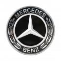 Original Mercedes-Benz Emblem für Motorhaube schwarz C E Klasse W205 204 213 238