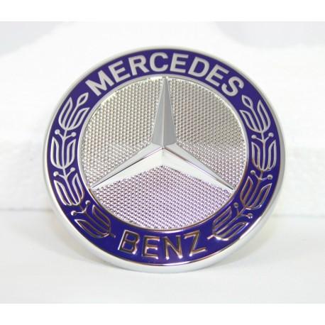 Original Mercedes-Benz Emblem für Motorhaube blau C E Klasse W205 205 213