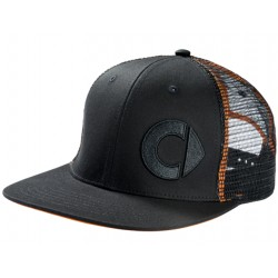 Original smart Baseball Cap FLATBRIM Schirmmütze Herren schwarz orange B66952708