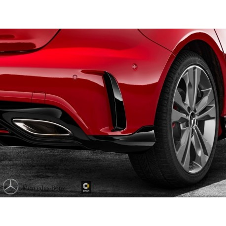 Original Mercedes-Benz AMG-Zusatz-Flics Satz für A-Klasse 176