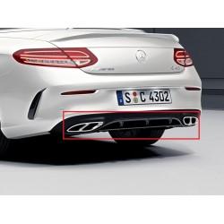 Original Mercedes-Benz AMG Heckschürzenblende Heckdiffusor C-Klasse Coupe Cabrio C/A 205