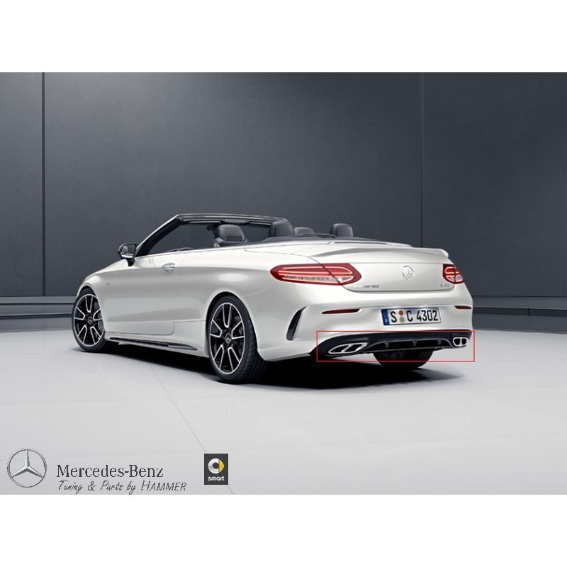 Original Mercedes-Benz AMG Heckschürzenblende Heckdiffusor