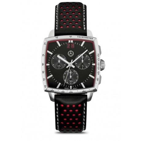Original Mercedes-Benz Chronograph Classic Ralley für Herren schwarz / rot