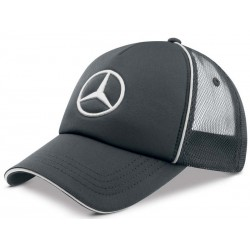 Original Mercedes Benz Cap Schirmmütze Mütze Basecap Trucker anthrazit