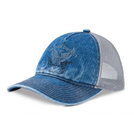Original Mercedes Benz Cap Schirmmütze Mütze Basecap Trucker blau