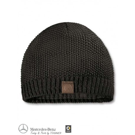 Original Mercedes-Benz Strickmütze Mütze schwarz