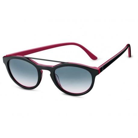 Original Mercedes Benz Sonnenbrille Damen Casual schwarz / plumfarben Carl Zeiss