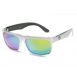 Original Mercedes-Benz Sonnenbrille Herren Motorsport silber anthrazit von uvex