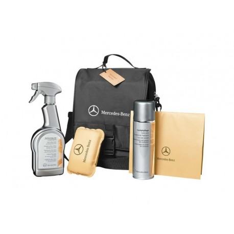Original Mercedes-Benz Interieur Pflegeset inkl. Glasschwamm und Autotuch
