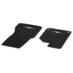 Original smart 453 BRABUS Velours Fußmatten, Fussmatten, 2-teilig, RECHTSlenker, RHD