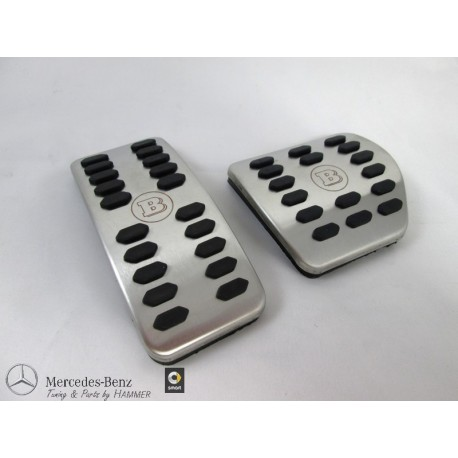 Original smart BRABUS forfour fortwo 453 Sportpedalauflage für Automatikgetriebe