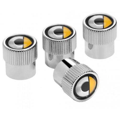 Original smart Ventilzierkappen, Set, 4-teilig, Ventil, Kappen für Reifen