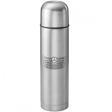 Original Mercedes-Benz Thermoskanne - silberfarben, Edelstahl