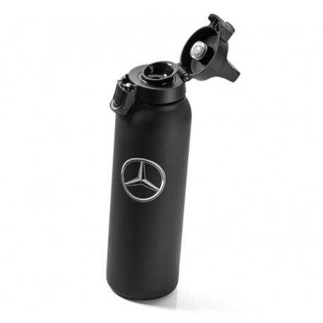 Original Mercedes-Benz Thermobecher, Isolierbecher, SIGG, groß, Edelstahl, Kunststoff