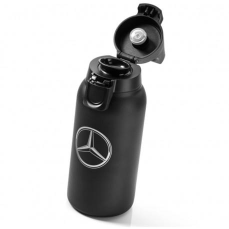 Original Mercedes-Benz Thermobecher, Isolierbecher, SIGG, klein, Edelstahl, Kunststoff