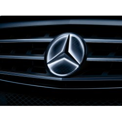 Original Mercedes-Benz Stern LED beleuchtet Komplettsatz Kühlergrill C Kl. 204