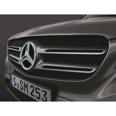 Mercedes-Benz Stern beleuchtet
