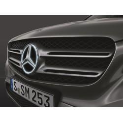 Original Mercedes-Benz Stern LED beleuchtet Komplettsatz, Kühlergrill, GLC