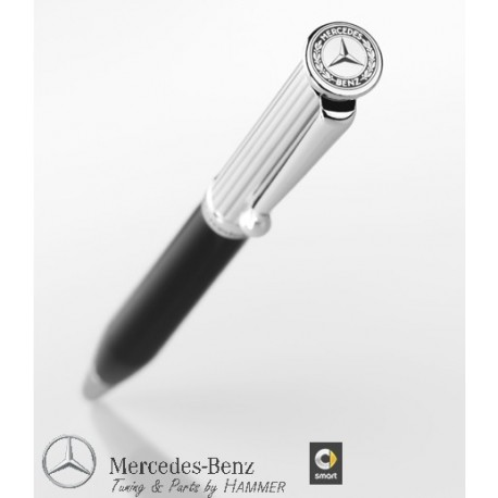 Original Mercedes-Benz Classic Kugelschreiber Stift Kuli silber schwarz