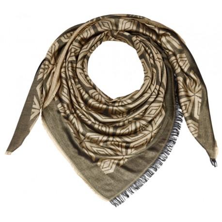 Original Mercedes-Benz Tuch Halstuch Damen schwarz / goldfarben von CODELLO
