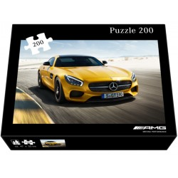 Original Mercedes-Benz AMG GT Puzzle für Kinder und Sammler 200 Teile