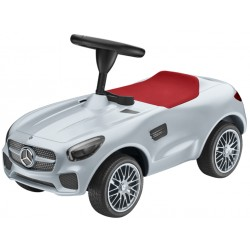 Original Mercedes-Benz Kinderrutscher, Bobby Car AMG GT ab 18 Monaten silber