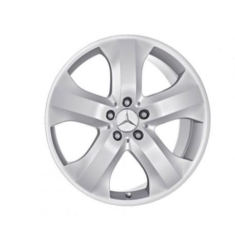 1x Alu Felge Original Mercedes-Benz, 9,5x19 ET56 I M-Klasse 164, Rad