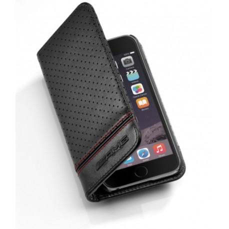 Original Mercedes-Benz Hülle Case iPhone 7 / iPhone 8 schwarz, Leder