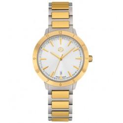 Original Mercedes-Benz Armbanduhr Uhr swissmade Design Damen Gold