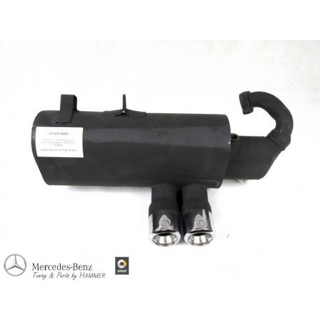 Original smart 451 BRABUS Sportauspuffanlage, für 62 kW Benziner