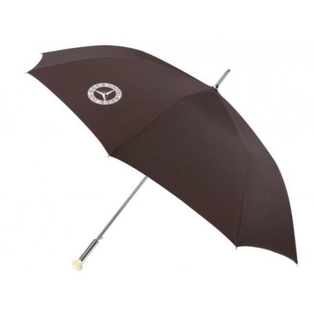Original Mercedes-Benz Regenschirm Gästeschrim 300 SL Schaltknauf - braun