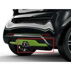 Original smart 453 fortwo BRABUS Sportauspuffanlage, für 66 kW