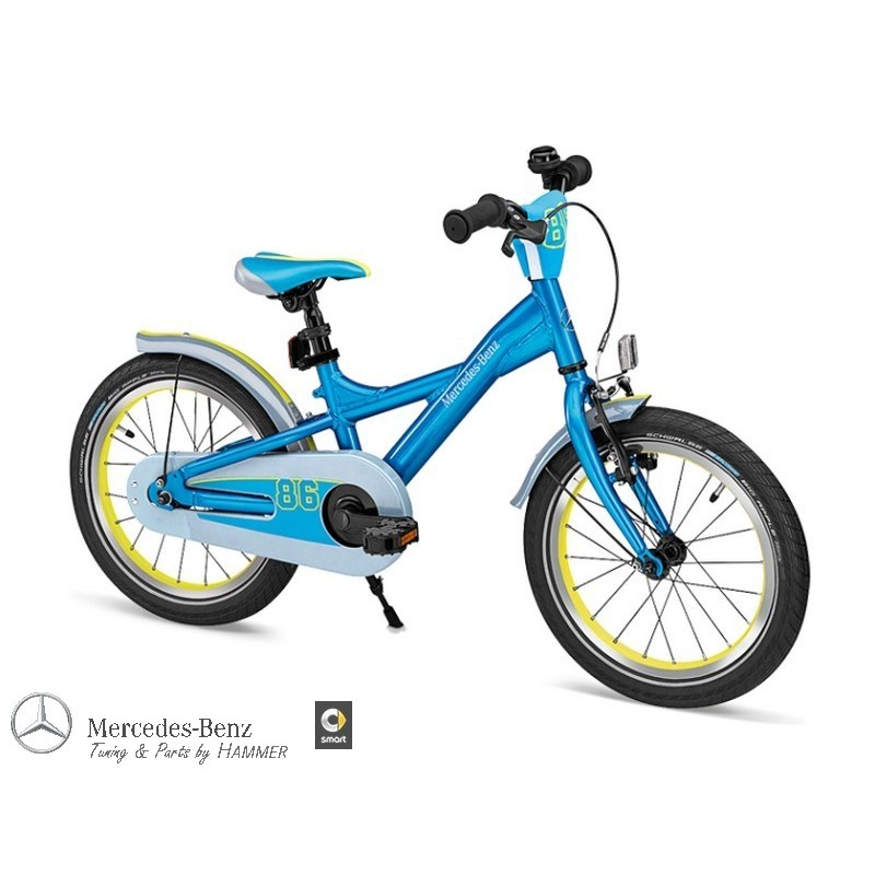original mercedes benz kinderfahrrad kids bike blau. Black Bedroom Furniture Sets. Home Design Ideas