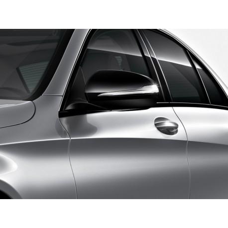 Original Mercedes-Benz Außenspiegelkappen Spiegelgehäuse schwarz C-Klasse 205 GLC 253