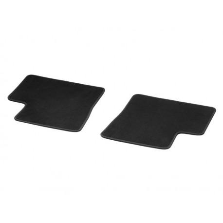 Original smart 453 forfour Fußmatten Velours hinten 2-teilig schwarz