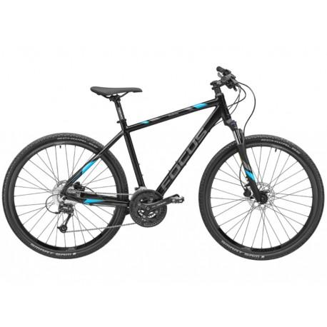 Original Mercedes-Benz Fitnessbike von FOCUS Bike, Fahrrad, Rad, schwarz, Aluminium