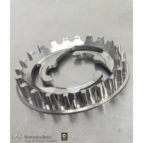 Original smart ebike Zahnriemenscheibe - Ritzel hinten 22 Zähne