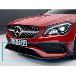 Original Mercedes-Benz AMG Frontsplitter CLA 117 schwarz - Nur mit AMG Line und CLA 250 Sport